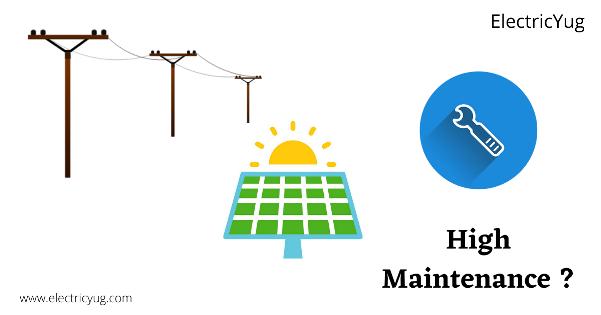 Solar Energy is High Maintenance?