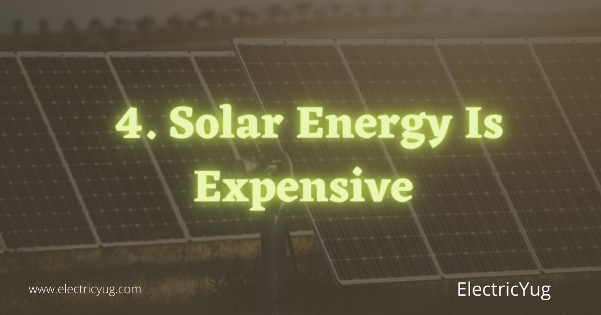 Solar Energy Is expensive