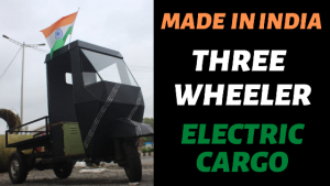 Electric 3 Wheeler Cargo